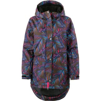 WLD Illuva Funktionsjacke Damen fullprint palms