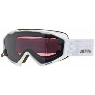 ALPINA PANOMA S MAGNETIC Q+S Skibrille white