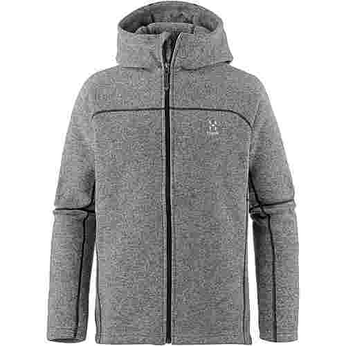 Haglöfs SWOOK Fleecejacke Herren Concrete/True Black