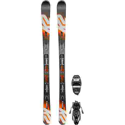 K2 LUV MACHINE 74 ER3 10 COMPACT All-Mountain Ski Damen schwarz-blau