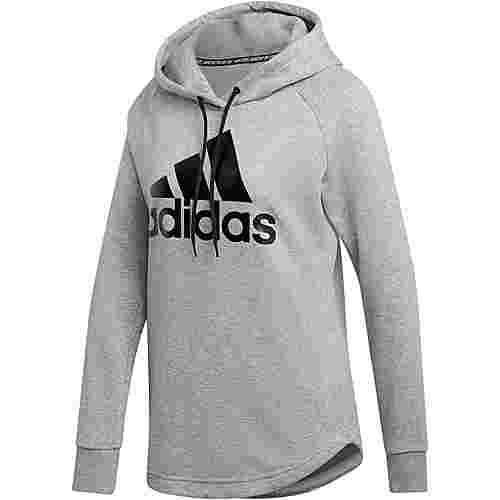 adidas Batch of sport Hoodie Damen medium grey heather