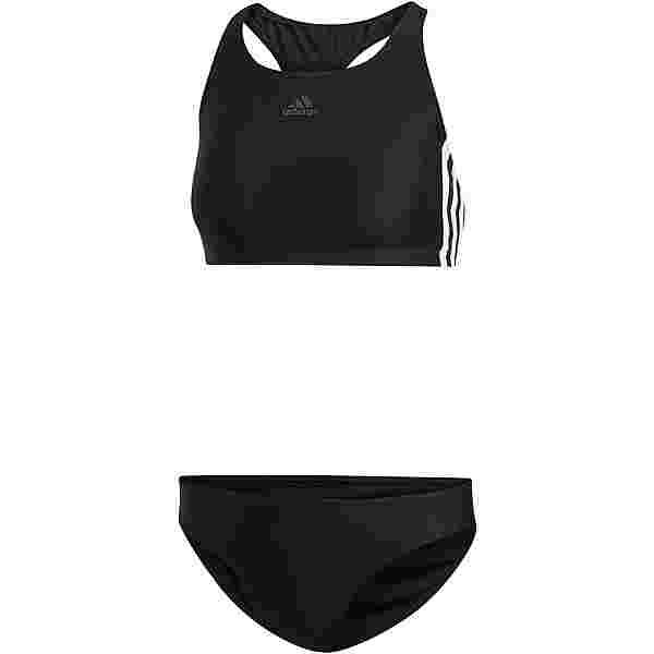 adidas Fit 3-Stripes Bikini Set Damen black