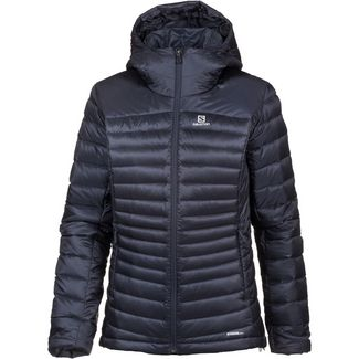 Salomon HALOES DOWN Daunenjacke Damen graphite