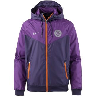 Nike Manchester City Windbreaker Herren purple dynasty-night purple-safety orange-reflective silv