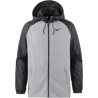 Nike Dry HD Utility Core Kapuzenjacke Herren dk-grey-heather-black