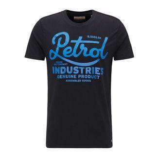 Petrol Industries Printshirt Herren Black