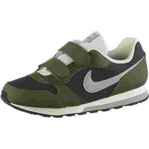 Nike MD Runner Sneaker Kinder sequoia-wolf grey-olive canvas-sail