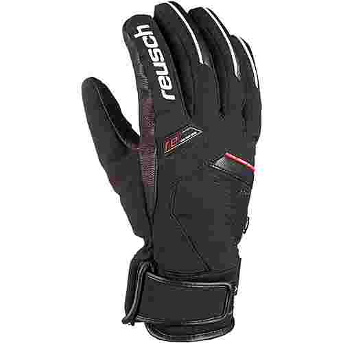 Reusch BEAT Skihandschuhe black-white-fire-red