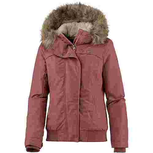 Ragwear Wooki Kapuzenjacke Damen dusty red