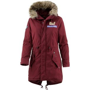 Khujo Kenita 2 Parka Damen wine red
