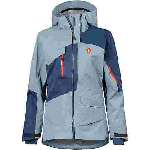 SCOTT Vertic 3 L Snowboardjacke Damen blue haze-denim blue