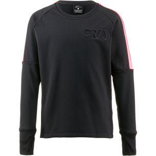 Nike CR7 Funktionsshirt Kinder black-hot punch-black