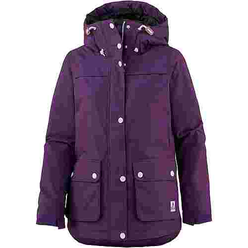 WEARCOLOUR IDA Snowboardjacke Damen grape