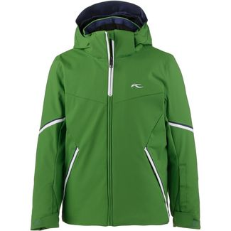 KJUS Skijacke Kinder green leaf