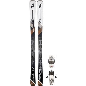 Nordica SENTRA S5XFDT+TP2 COMPACT 10 FTD All-Mountain Ski Damen WHITE/BLACK/BRONCE