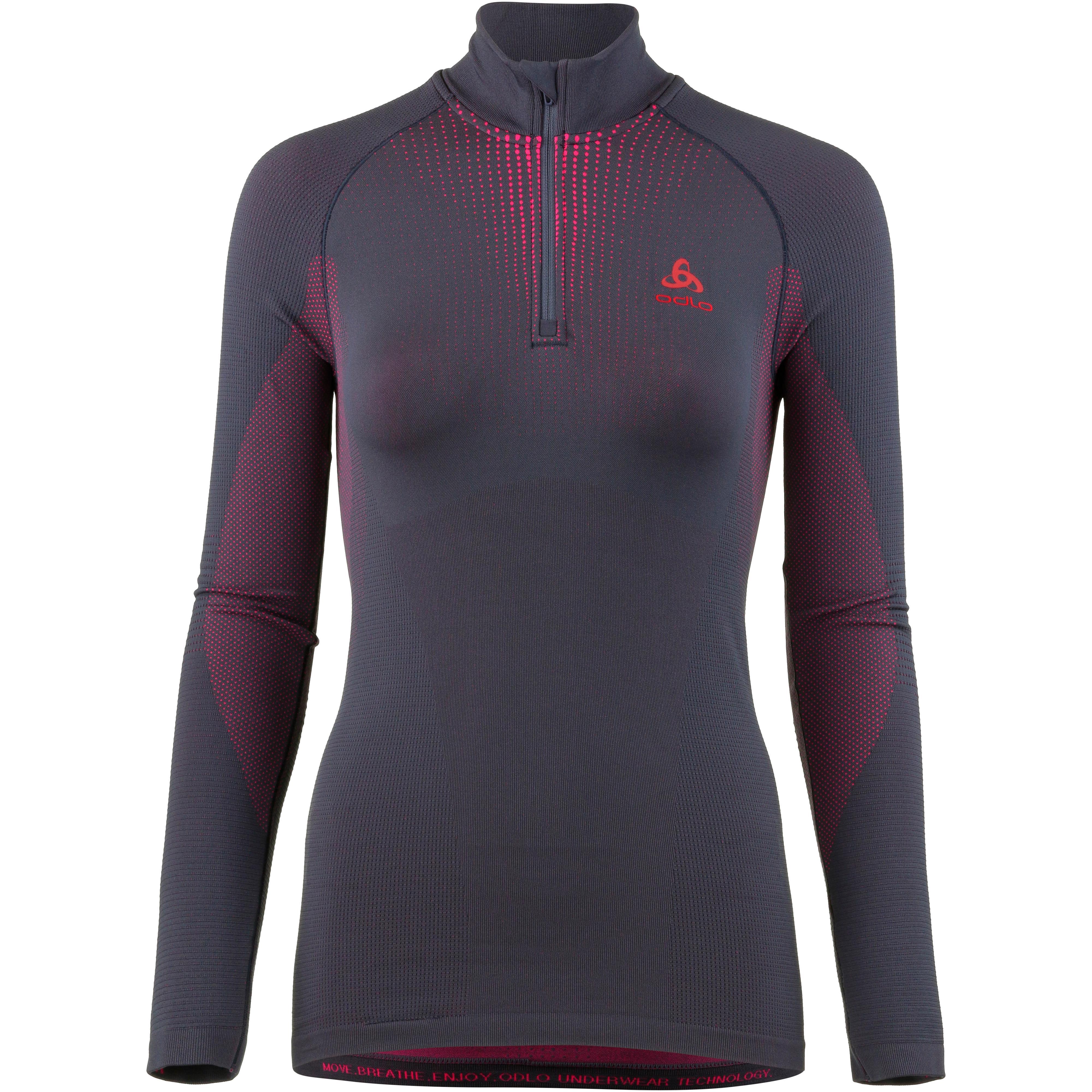 new arrival 41d38 e2118 Odlo Warm Unterhemd Damen odyssey gray im Online Shop von SportScheck kaufen