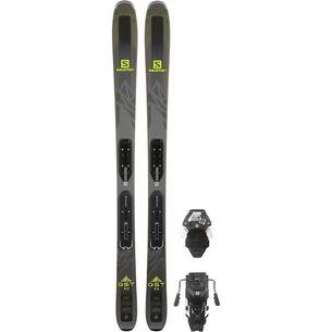 Salomon QST 92 Freeride Ski grau/grün