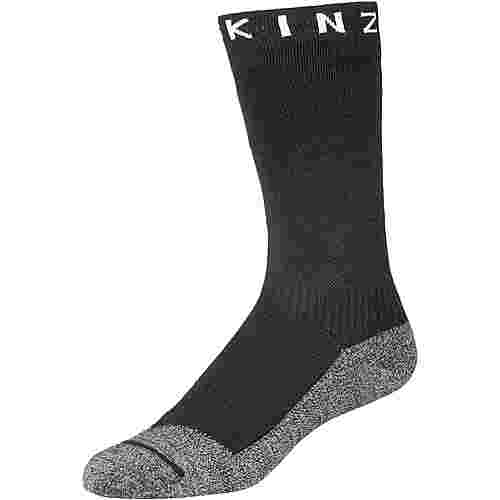 Sealskinz Soft Touch Mid Wandersocken black-grey-white