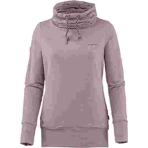 Mazine Sweatshirt Damen woodrose-flamingos
