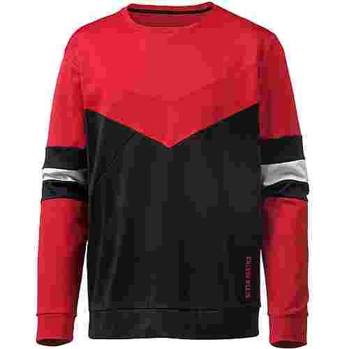 Calvin Klein Sweatshirt Herren ck-black/racing-red/bright-white
