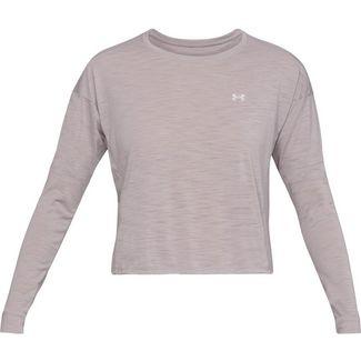 Under Armour Whisperlight Sweatshirt Damen gray