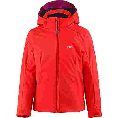KJUS Skijacke Kinder fiery red