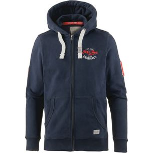 CORE by JACK & JONES Sweatjacke Herren total eclipse
