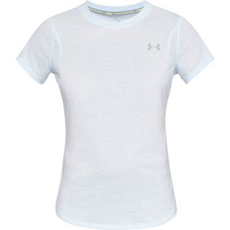 Under Armour Streaker Laufshirt Damen coded blue full heather-coded blue full heather-reflective