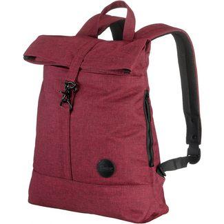 Enter Rucksack Daypack melange wine red