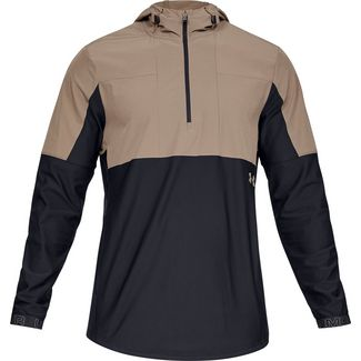 Under Armour VANISH HYBRID Funktionsjacke Herren brown