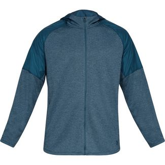 Under Armour Terry Funktionsjacke Herren blue