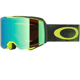 Oakley Fall Line Prizm Jade Iridium Skibrille Mystic Flow Retina