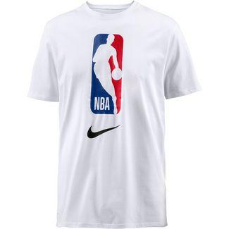 Nike NBA T-Shirt Herren white