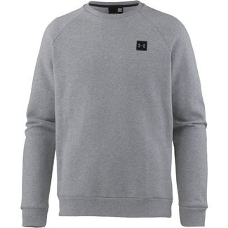 Under Armour Coldgear Rival Fleece Sweatshirt Herren steel-light-heather-black
