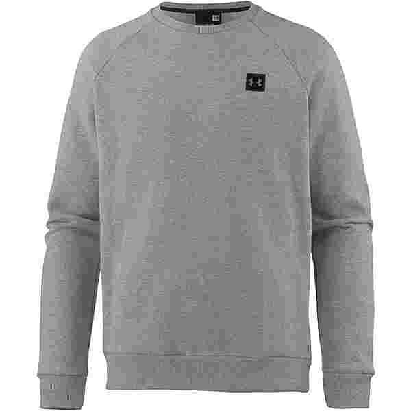 Under Armour Coldgear Rival Fleece Sweatshirt Herren steel-light-heather-black