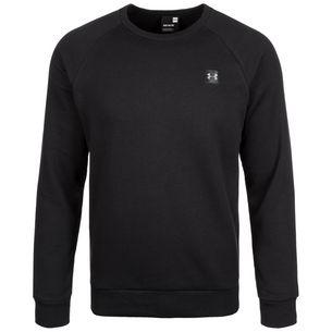 Under Armour Coldgear Rival Fleece Sweatshirt Herren black-black