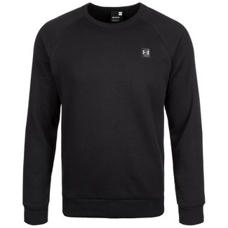 Under Armour Coldgear Rival Fleece Sweatshirt Herren black-black