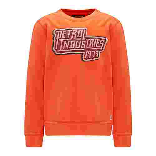 Petrol Industries Sweatshirt Kinder Dark Orange