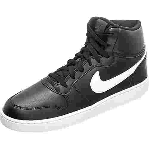 Nike Ebernon Mid Sneaker Herren schwarz / weiß
