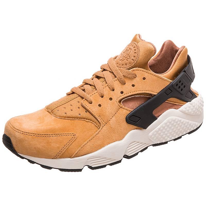 new style b98e6 57f3a Nike Air Huarache Run Premium Sneaker Herren hellbraun  schwarz