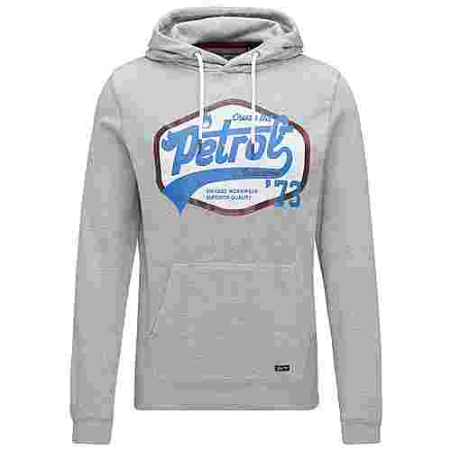 Petrol Industries Sweatshirt Herren Light Grey Melee