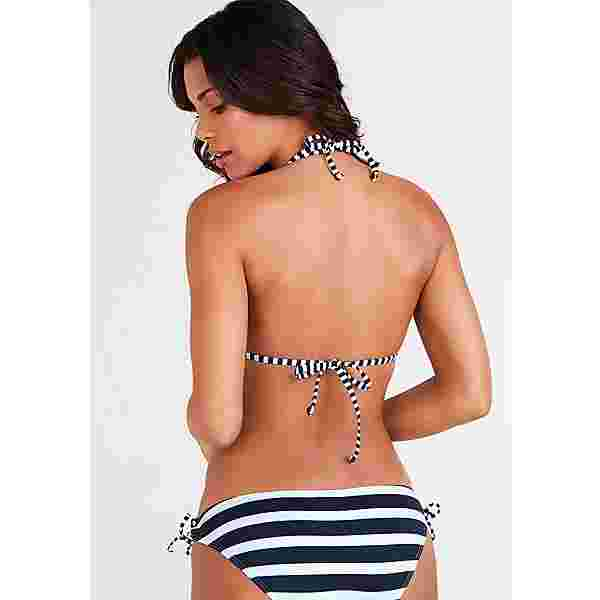 KangaROOS Bikini Oberteil Damen marine-weiß