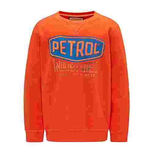 Petrol Industries Sweatshirt Kinder Dark Orange