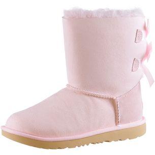 Ugg Bailey Bow Stiefel Kinder seashell pink