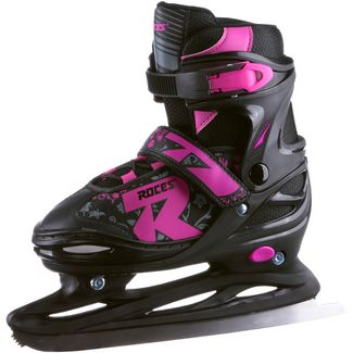 ROCES Jokey Ice 2.0 Girl Schlittschuhe Kinder black-fuchsia