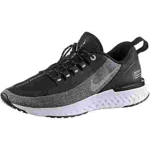 Nike Odyssey React Shield Laufschuhe Damen black-metallic-silver-cool-grey-vast-grey