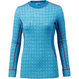 CMP MERINO Funktionsshirt Damen jewel-sky-light-bianco