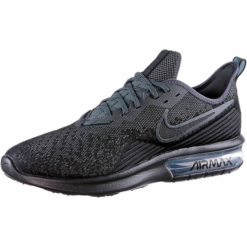 best sneakers 65848 c7a9e Nike Air Max Sequent 4 Sneaker Herren black-black-anthracite