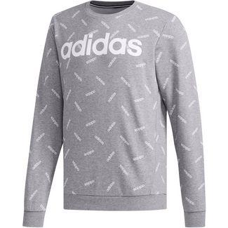 adidas AOP Sweatshirt Herren core heather