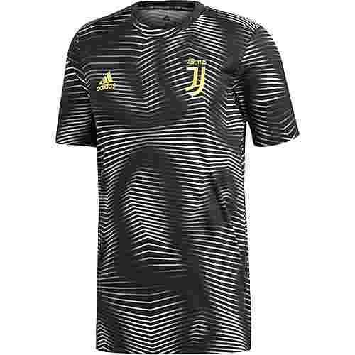 adidas Juventus Turin Prematch Funktionsshirt Herren black